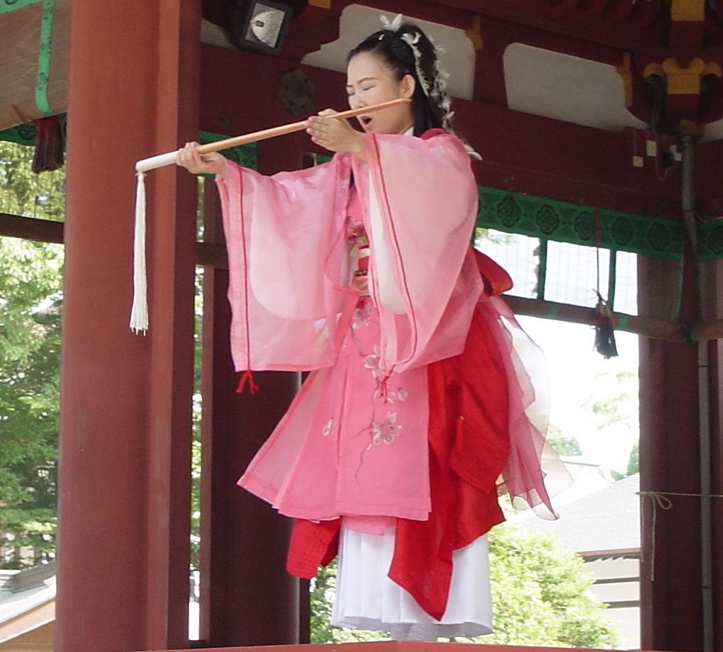 宗家 神谷美保子<br>ヤマト歌の剱舞 - O-Getsu Ryu | 桜月流美劔道