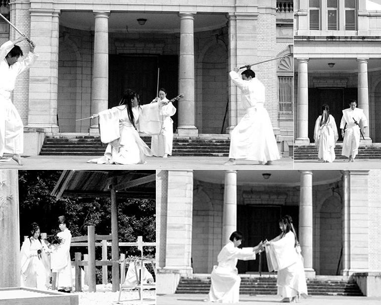 伊勢神宮 七夕正式奉納 - O-Getsu Ryu | 桜月流美劔道