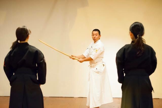 SAMURAI ARTS<br>真剣を振る身体を学ぶ<br> - O-Getsu Ryu | 桜月流美劔道