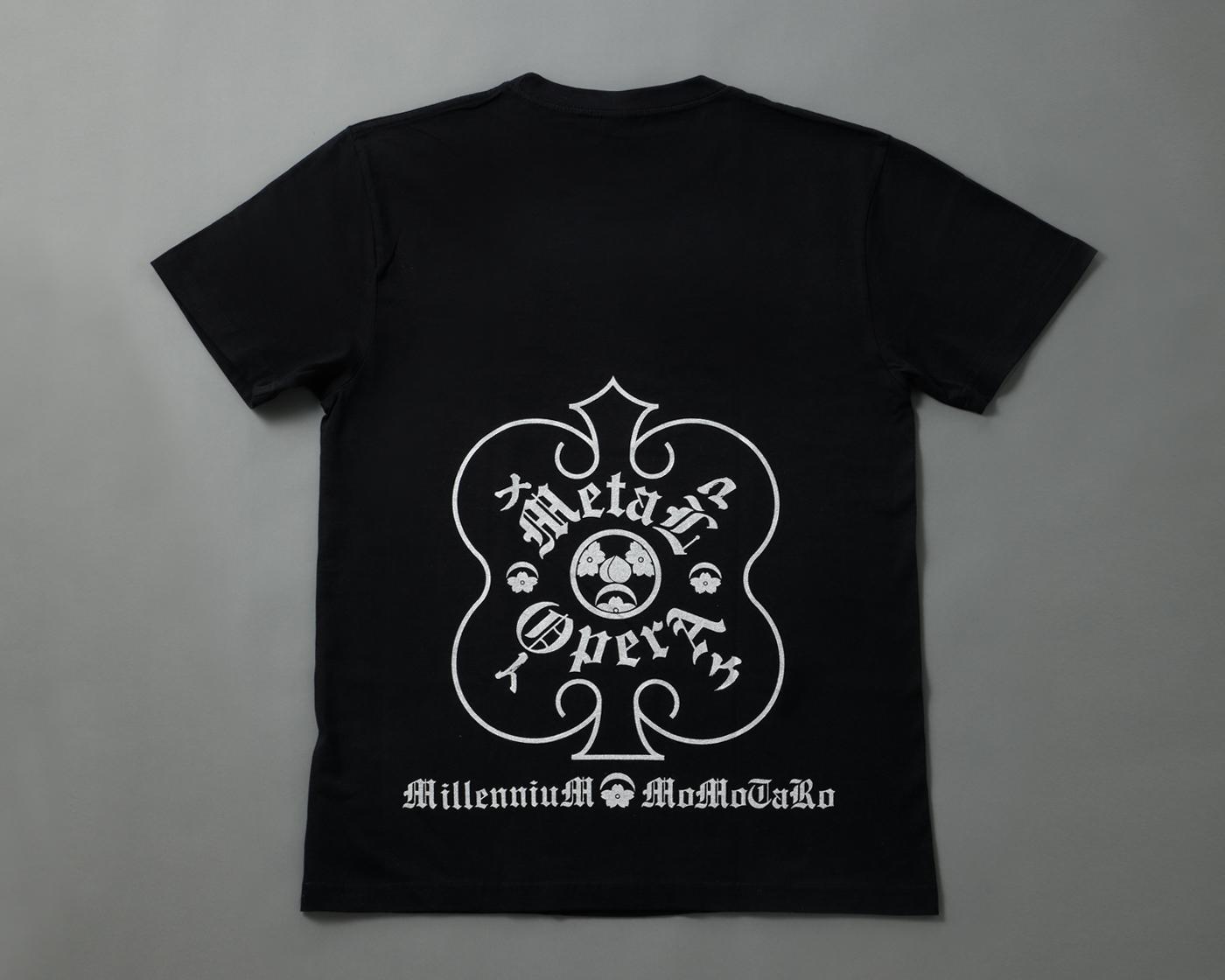 メタ桃オフィシャル・Tシャツ - O-Getsu Ryu | 桜月流美劔道